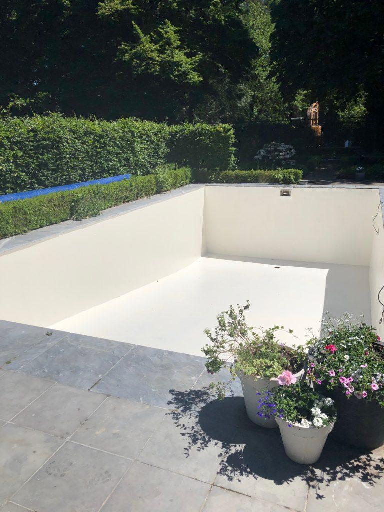 Renovatie zwembad afgewerkt